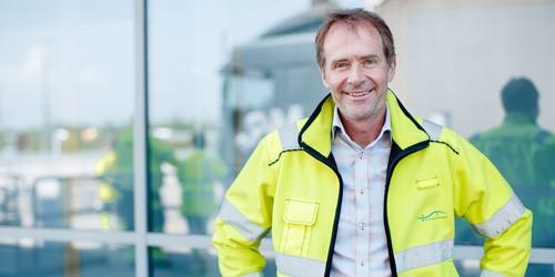 Håkan Kiendl, chef for betalingsanlægget. Foto: Fokus Øresund.