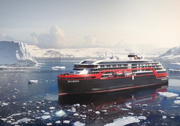 MS Roald Amundsen. Foto: Hurtigruten.