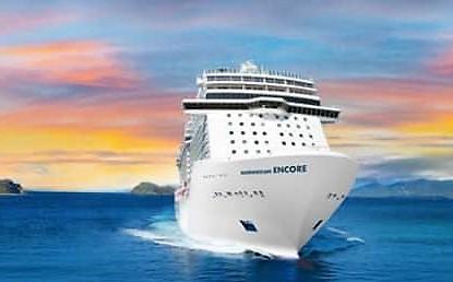 Sådan skal Norwegian Encore se ud. Foto: Norwegian Cruise Line.