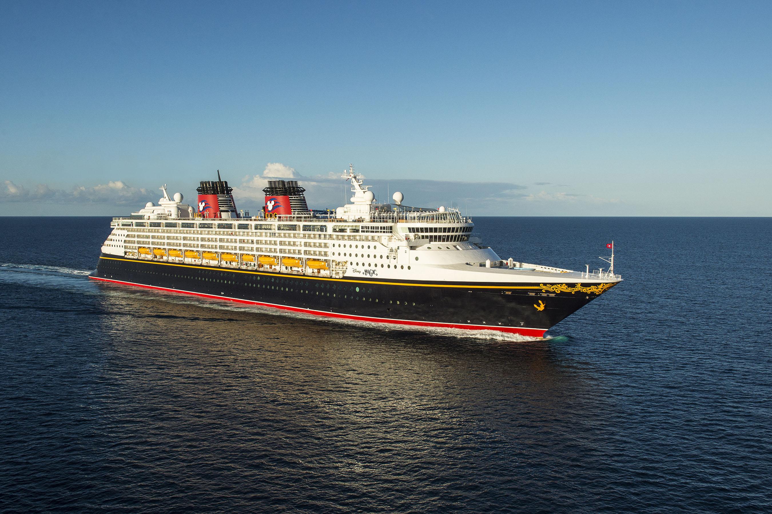 Disney Magic fra Disney Cruise Line. (Foto: Disney Cruise Line)