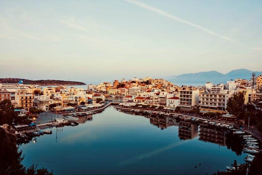 Chania på Kretas nordkyst. Foto: Apollo.