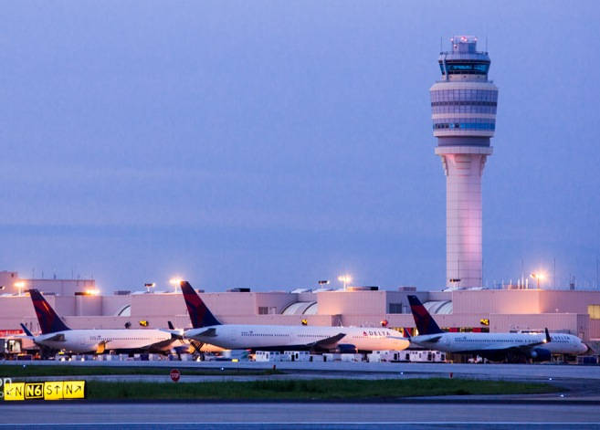 Atlanta i Georgia er Deltas største lufthavn – og verdens største med over 100 millioner passagerer om året.