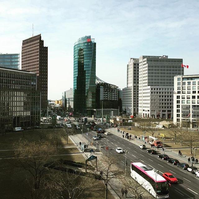 Potsdamer Platz – Berlins moderne centrum. Foto: Berlin Tourism.