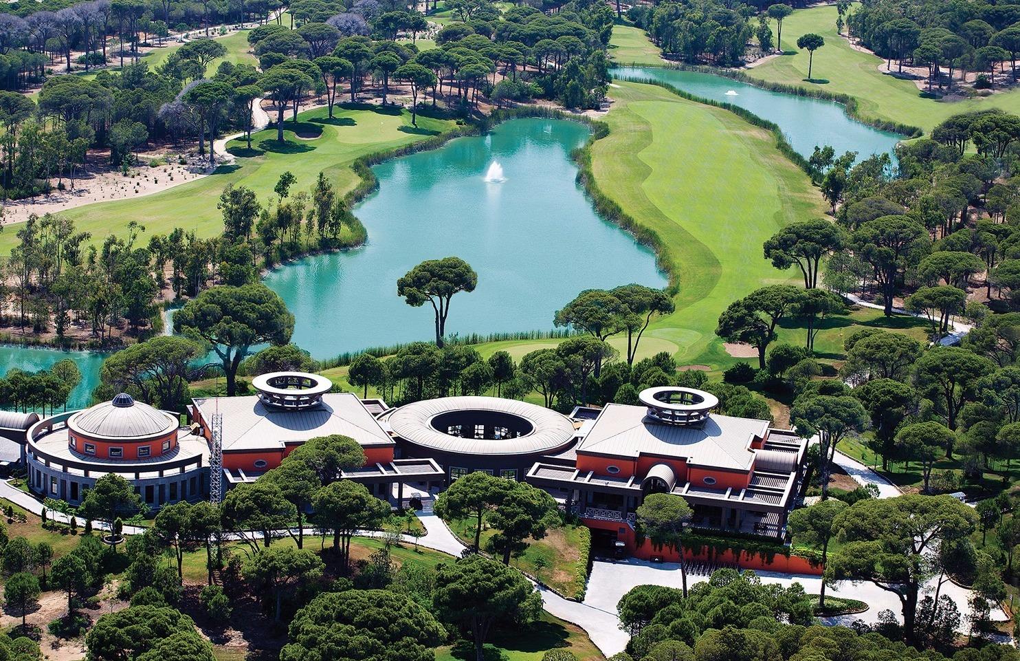 Cornelia Golf Resort and Spa i Tyrkiet.