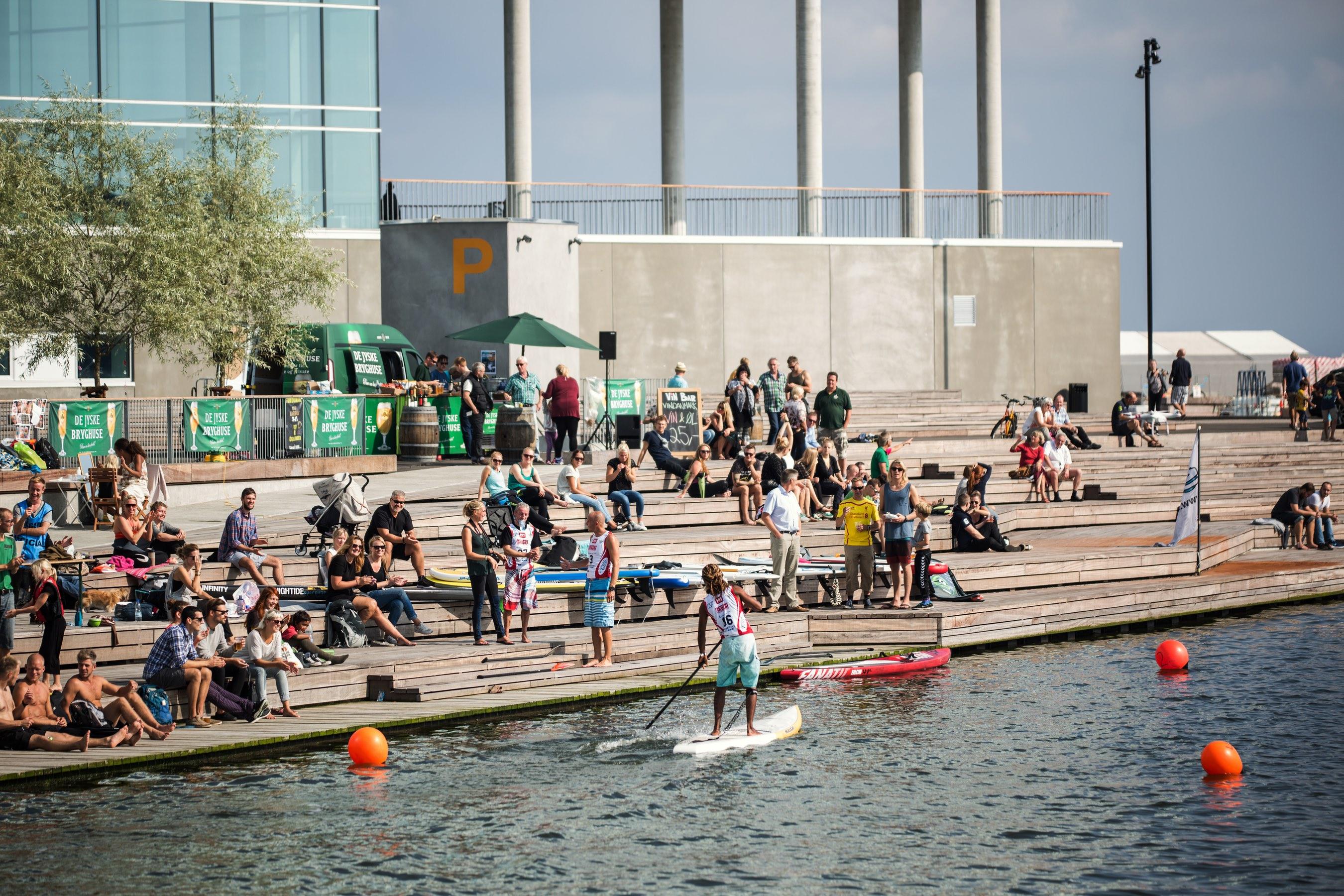 Aarhus ser stort vækstpotentiale i turister, fordelt på danske og udenlandske samt også en kraftig stigning af møde- og konferencegæster. Foto: VisitAarhus.