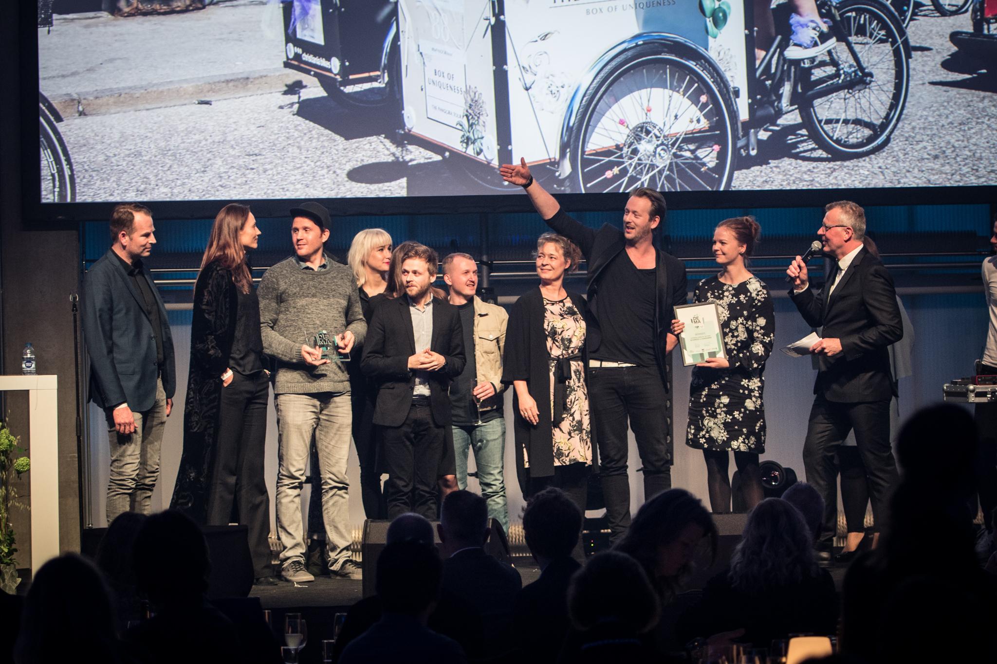 Den 30. maj er det atter tid til årets DEMA – Danish Meeting & Event Award, der i år afvikles på Langelinie Pavillonen. Her foto fra sidste års DEMA; fotograf: René Bang.