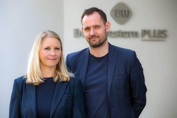 Claus Hegelund Bruun og Eva Grimsehl er nye i spidsen for Best Western Plus Hotel City Copenhagen. Hotelbygningen har i over 60 år været et familiejet hotel, men 1. maj kommer hotellet på nye hænder. Foto: Best Western.