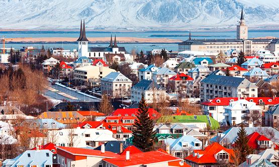 Den islandske hovedstad, Reykjavik, får efter planen i midten af 2020 sit tredje Radisson-hotel. Foto: Radisson Hotel Group.