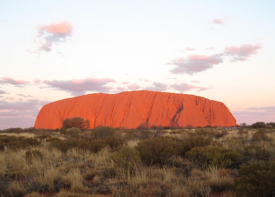 Australske Northern Territory er også med på FDM Travels messe – i Northern Territory ligger blandt andet et af landets mest berømte ikoner i den røde outback, monolitten Uluru, eller Ayers Rock. Foto: FDM Travel.