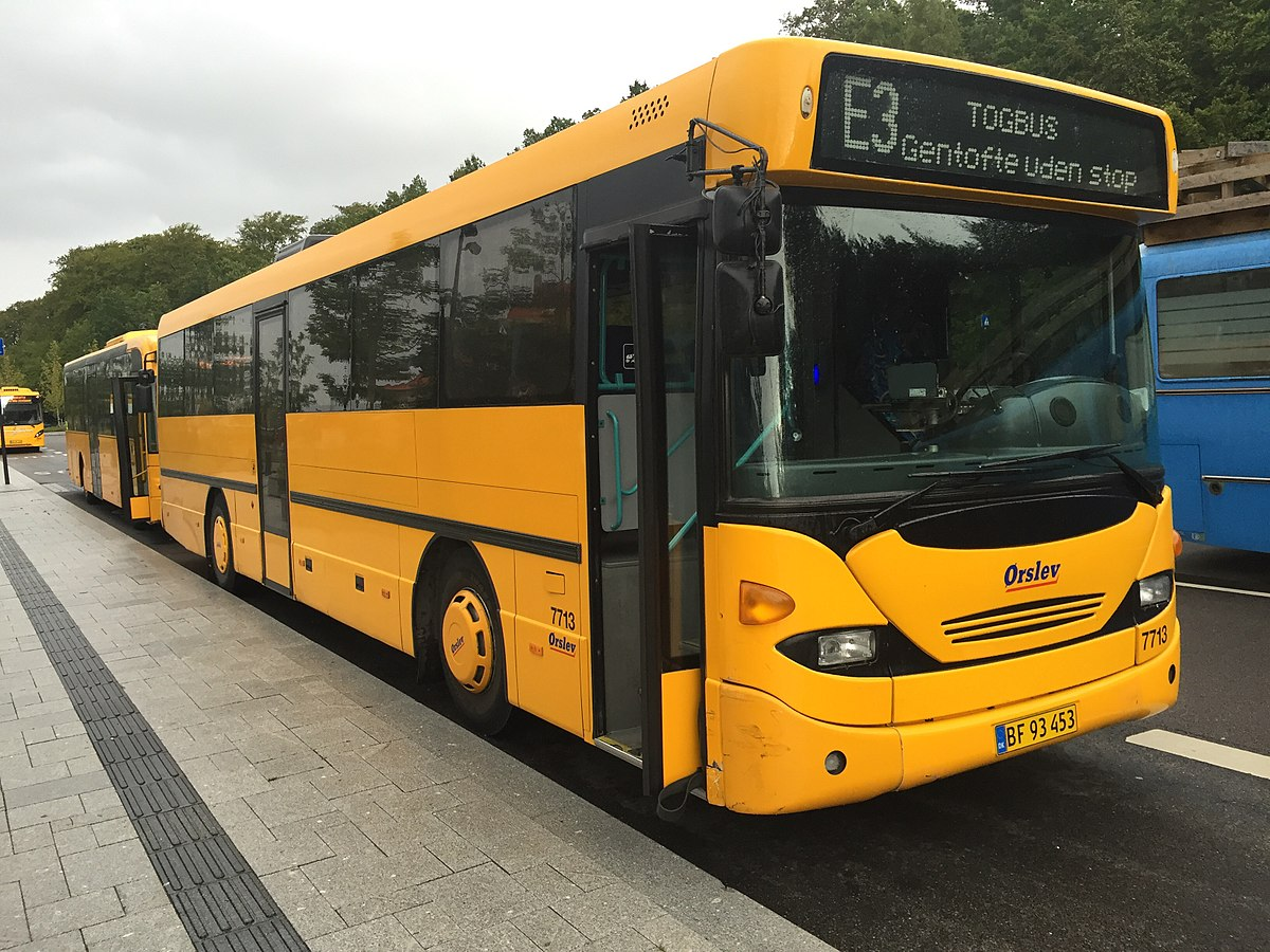 Togbus fra Ørslev Turisttrafik. (Foto: Christian Giersing | CC 4.0)