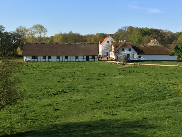 Esrum kloster og møllegård er en del af den nye nationalpark.