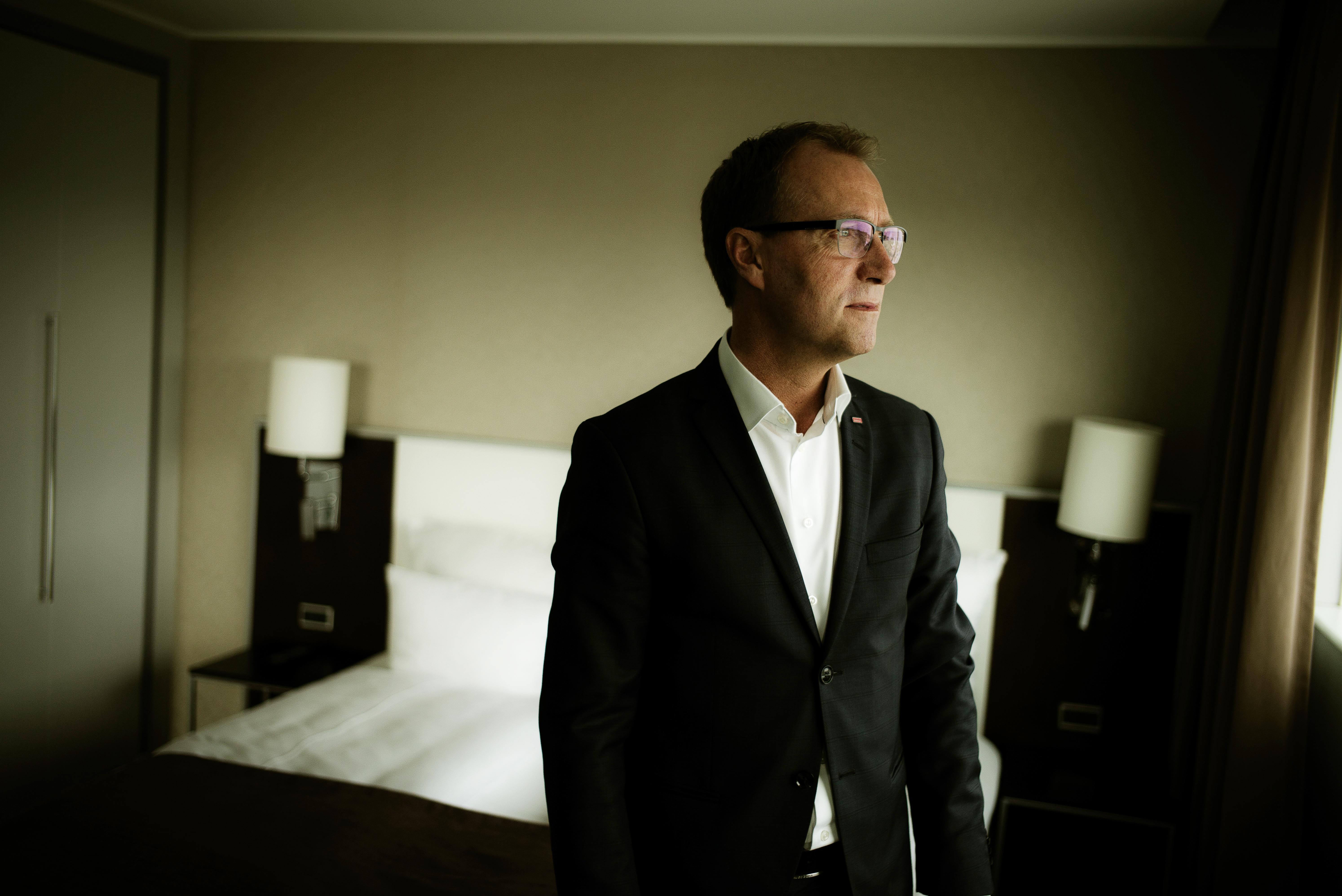 Jens Mathiasen, administrerende direktør for Scandic i Danmark. (Foto: Scandic Hotels)