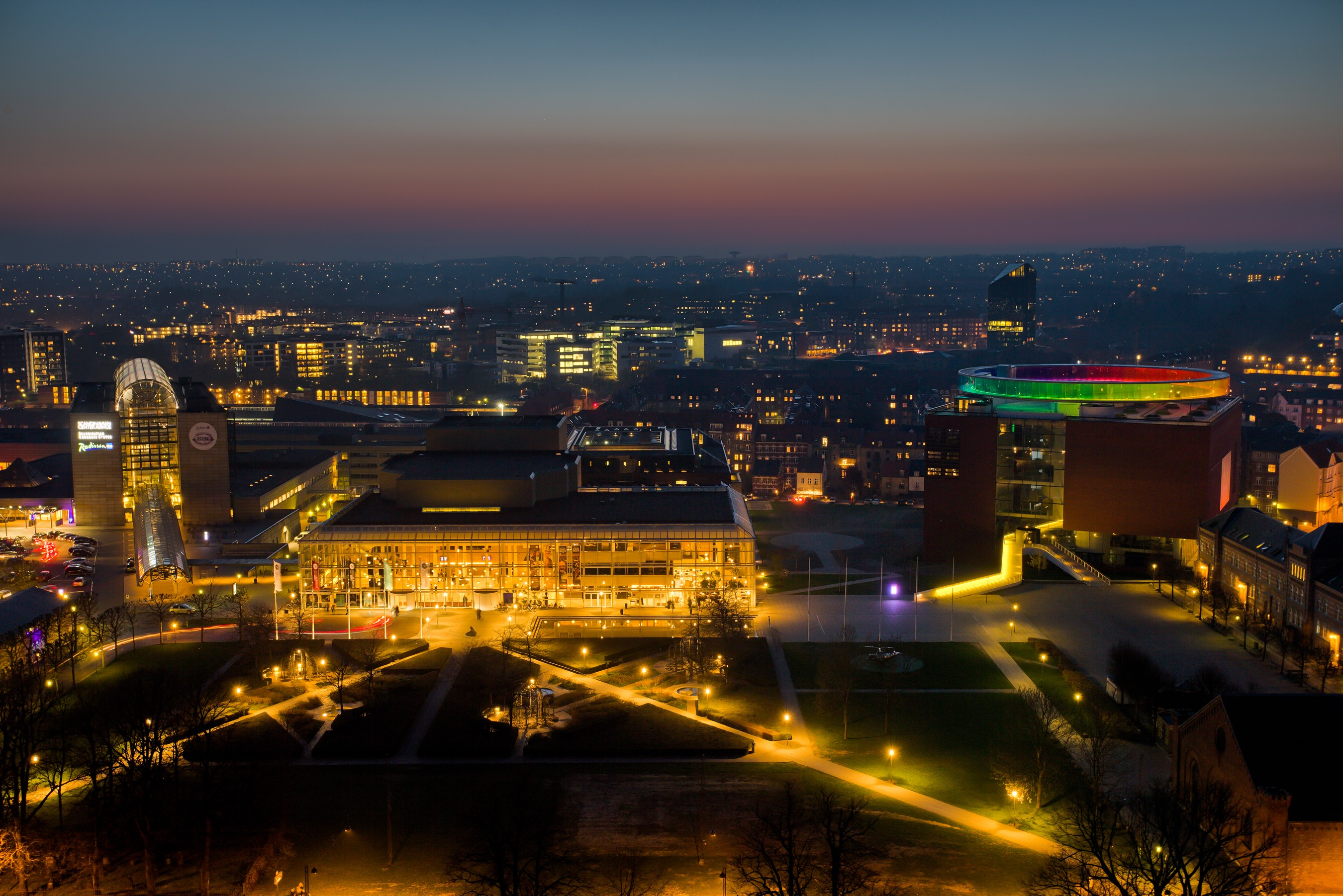 Aarhus har taget et kvantespring på verdensranglisten over de bedste kongresbyer.  Foto: Aarhus har taget et kvantespring på verdensranglisten over de bedste kongresbyer. VisitAarhus.