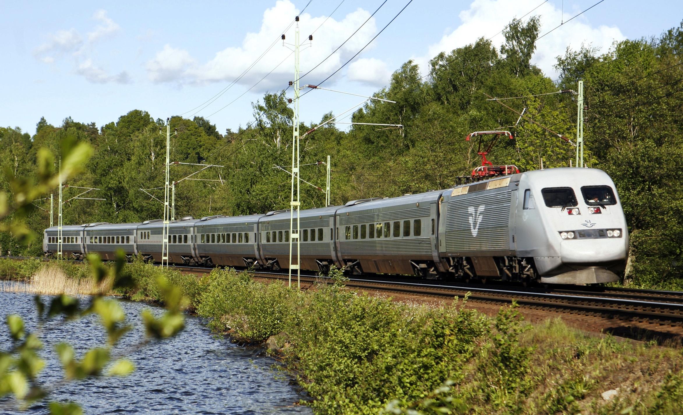 Det svenske DSB vil øge betjeningen mellem Stockholm og København. Foto: Kasper Dudzik for Svenska Jernvägar.