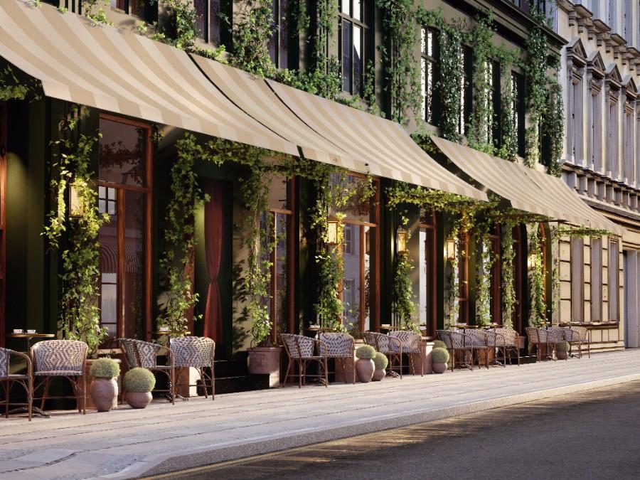 Hotel Sanders i det indre København skal være et af Københavns fineste luksushoteller.