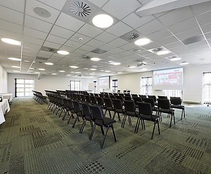 Udvidelsen af Park Hotel i Middelfart satser på kongresser. (Foto: Milling Hotels)