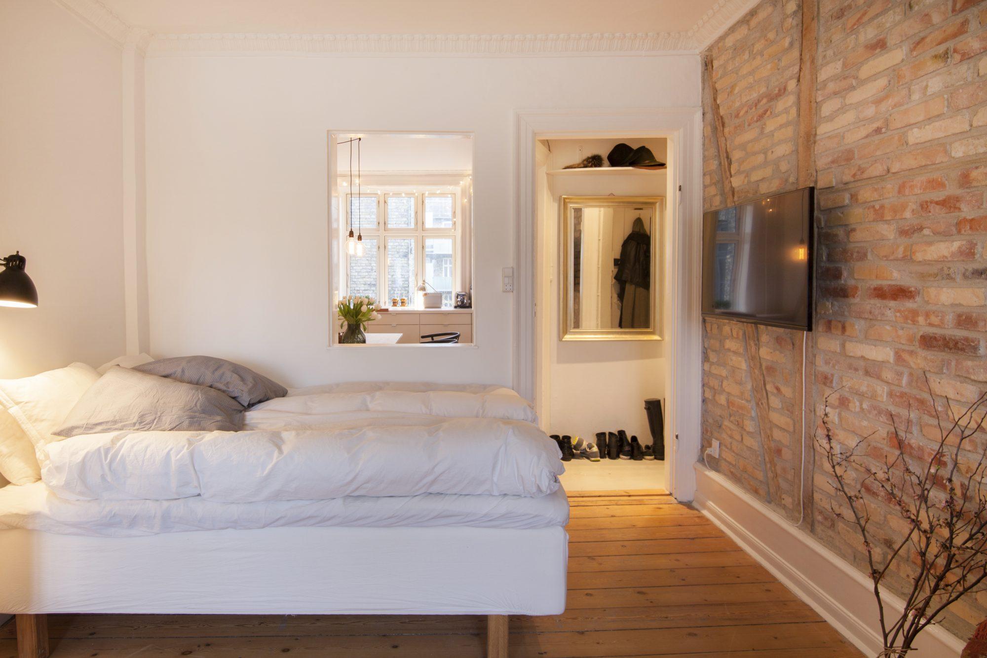 Airbnb – charmerende lejlighed ved søerne i København. (Foto: Airbnb)