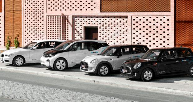 200 Nye Drivenow Biler I Københavns Gader Standbydk
