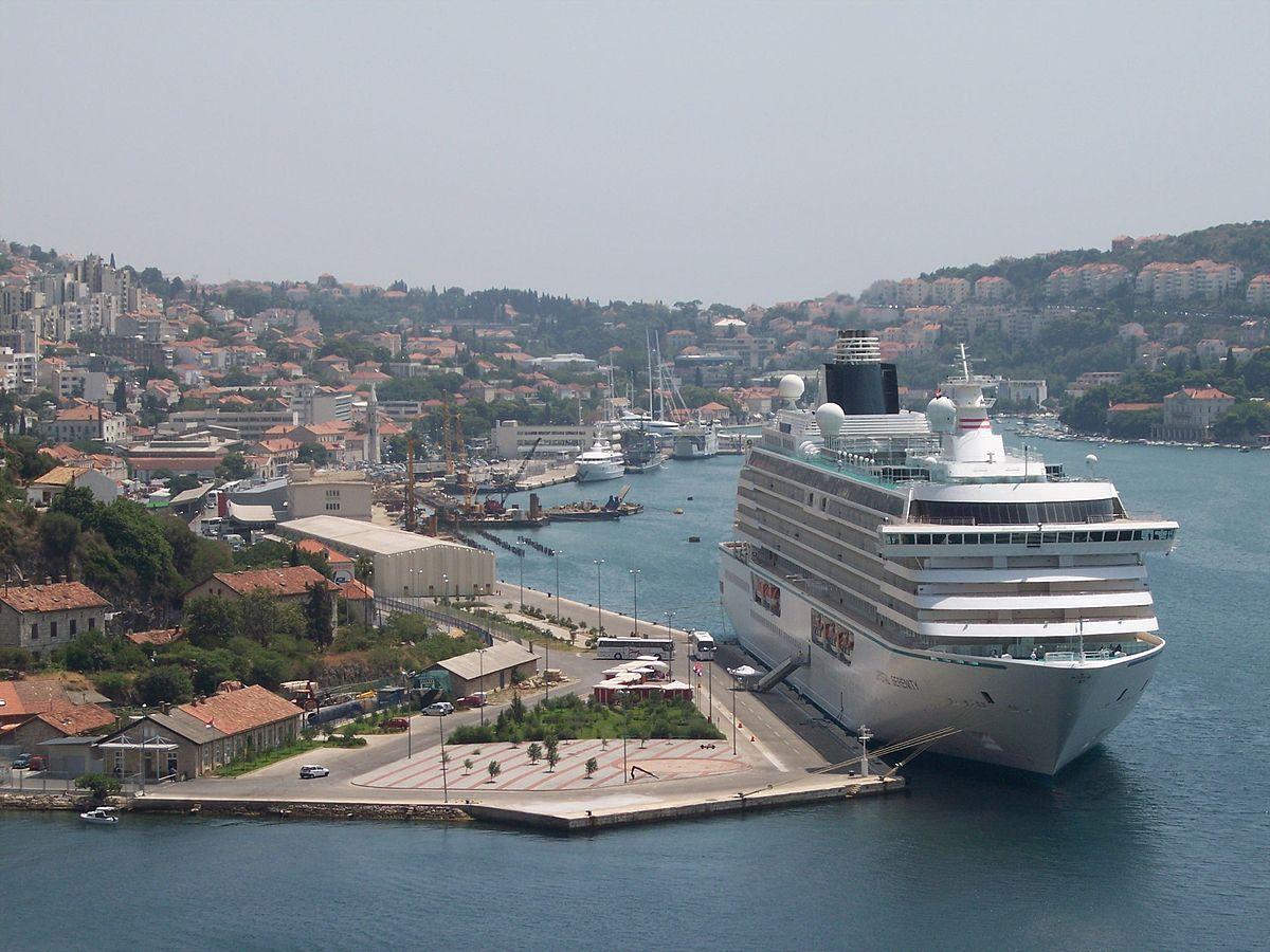 Havnen i Gruž ved Dubrovnik (Foto: László Szalai)