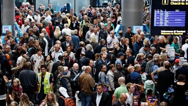 Ny kendelse fra EU-Domstolen siger, at flyselskaber i EU skal betale kompensation til passagerer ved deres ansattes eventuelle uvarslede strejker. Foto: Trafikstyrelsen.