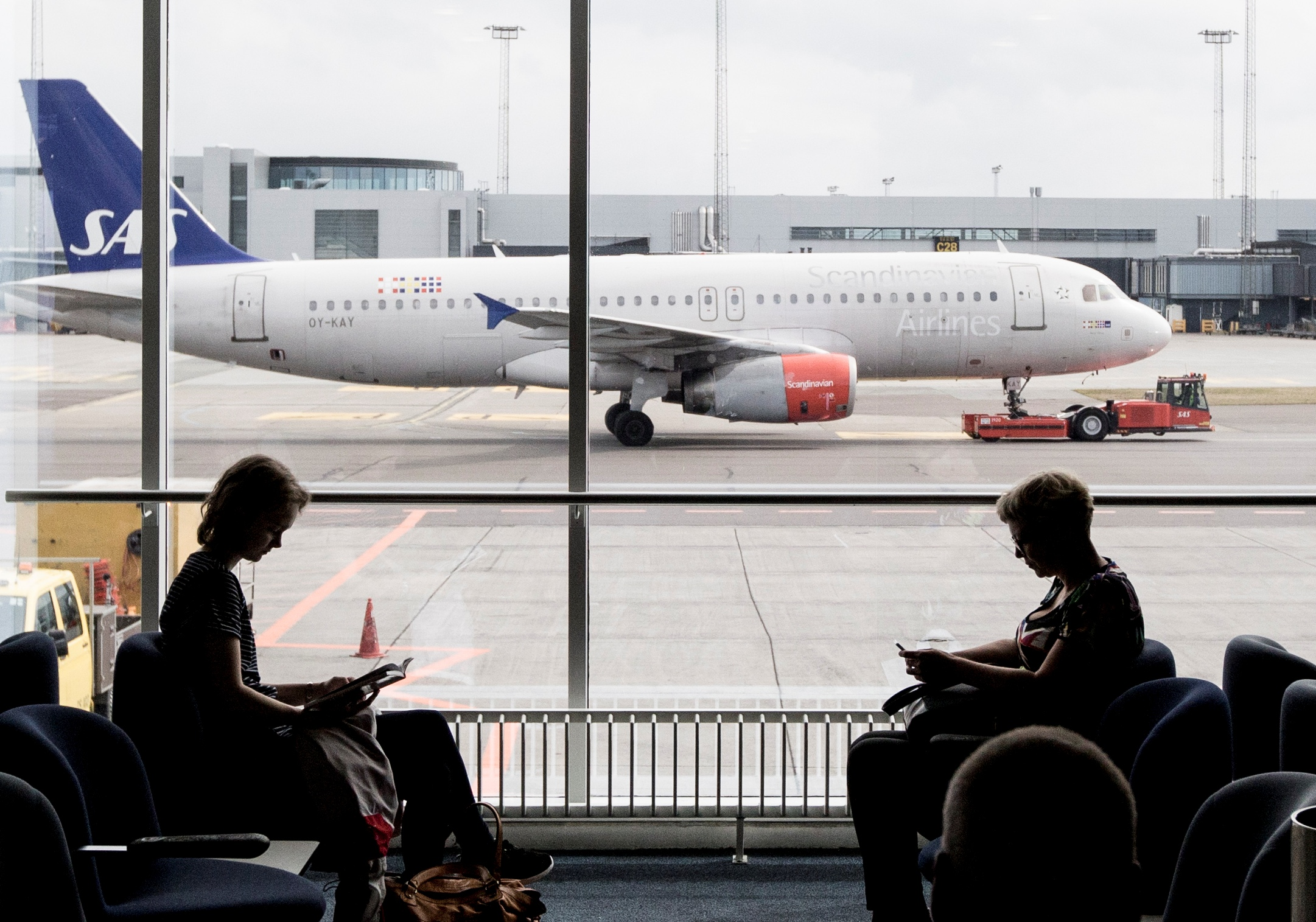 SAS har firmaaftaler med 65.000 små og mellemstore virksomheder verden over, heraf 8.000 i Danmark. Foto: Københavns Lufthavn.