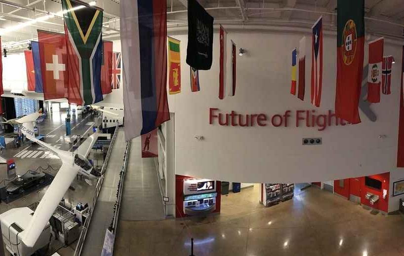 Arkivfoto fra Future of Flight Aviation Center, futureofflight.org
