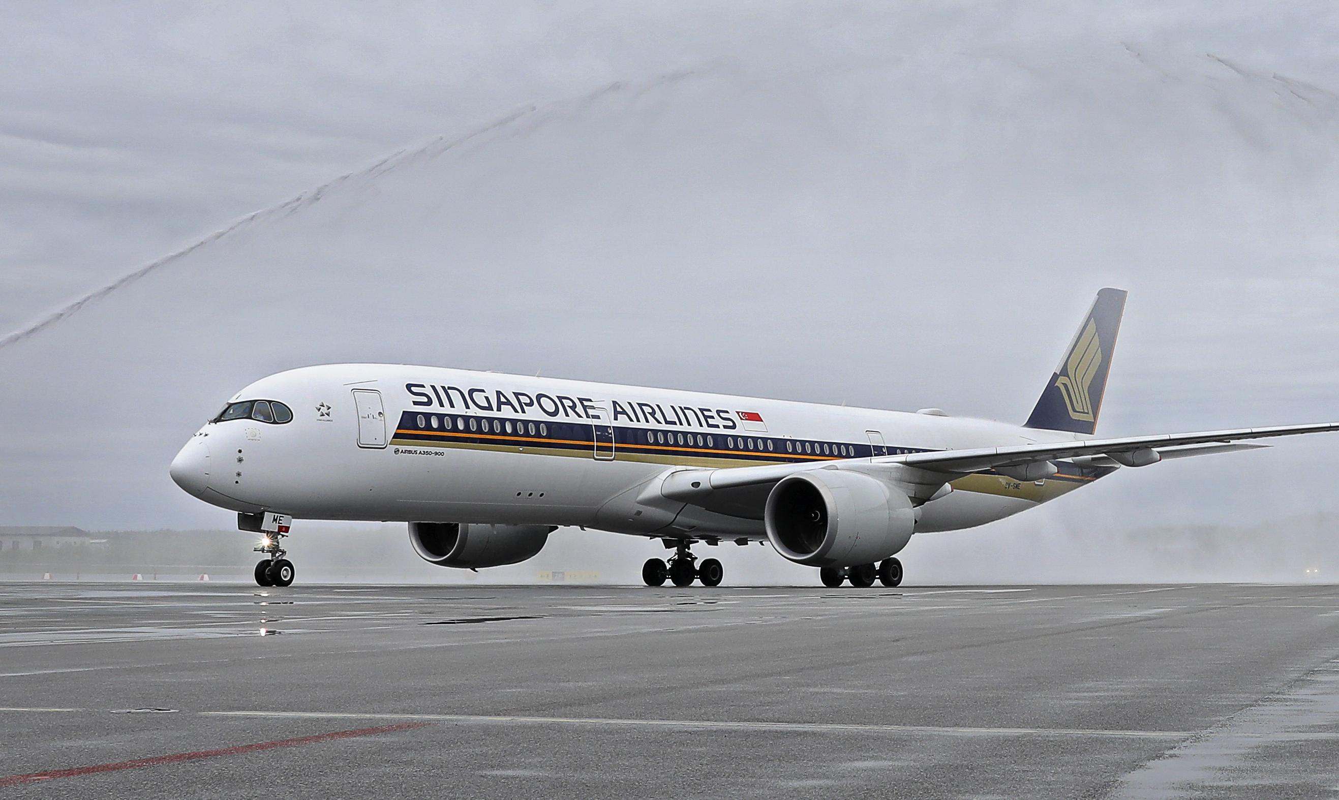 I maj sidste år havde Singapore Airlines premiere på sin nye rute fra Singapore til Stockholm med fem Airbus A350-900 fly om ugen. Ruten, der mellemlander i Moskva, har cirka 66.000 årlige flysæder. Foto: Arlanda Lufthavn.