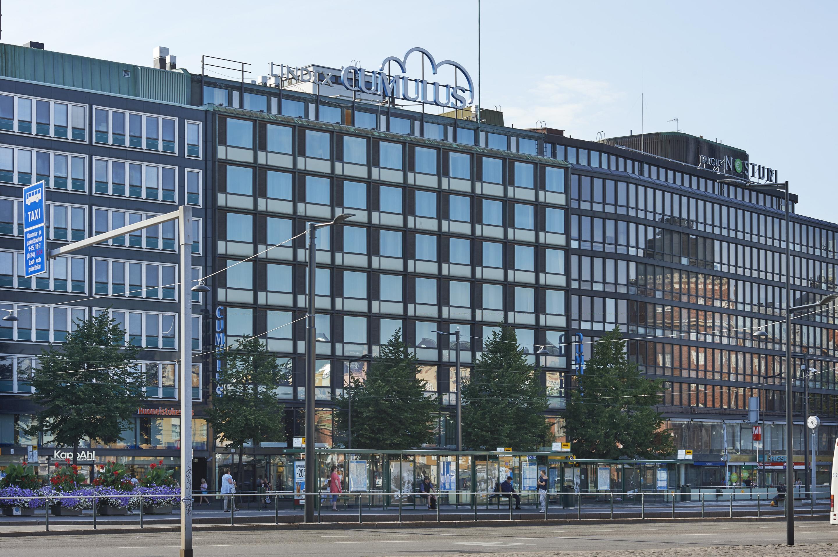 Et af de mange hoteller i Cumulus-kæden, som Scandic har overtaget i Finland, er Cumulus City Hakaniemi Helsinki i den finske hovedstad, hotellet er nu omdøbt til Scandic Hakaniemi. Foto: Scandic Hotels.