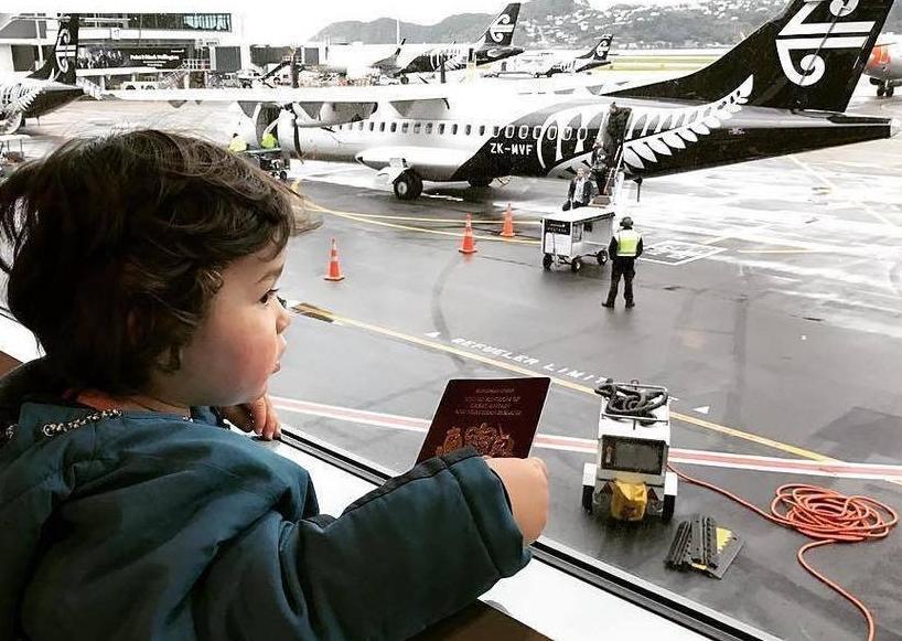 Twitterfoto fra Wellington Airport af lufthavnen ved den newzealandske hovedstad.