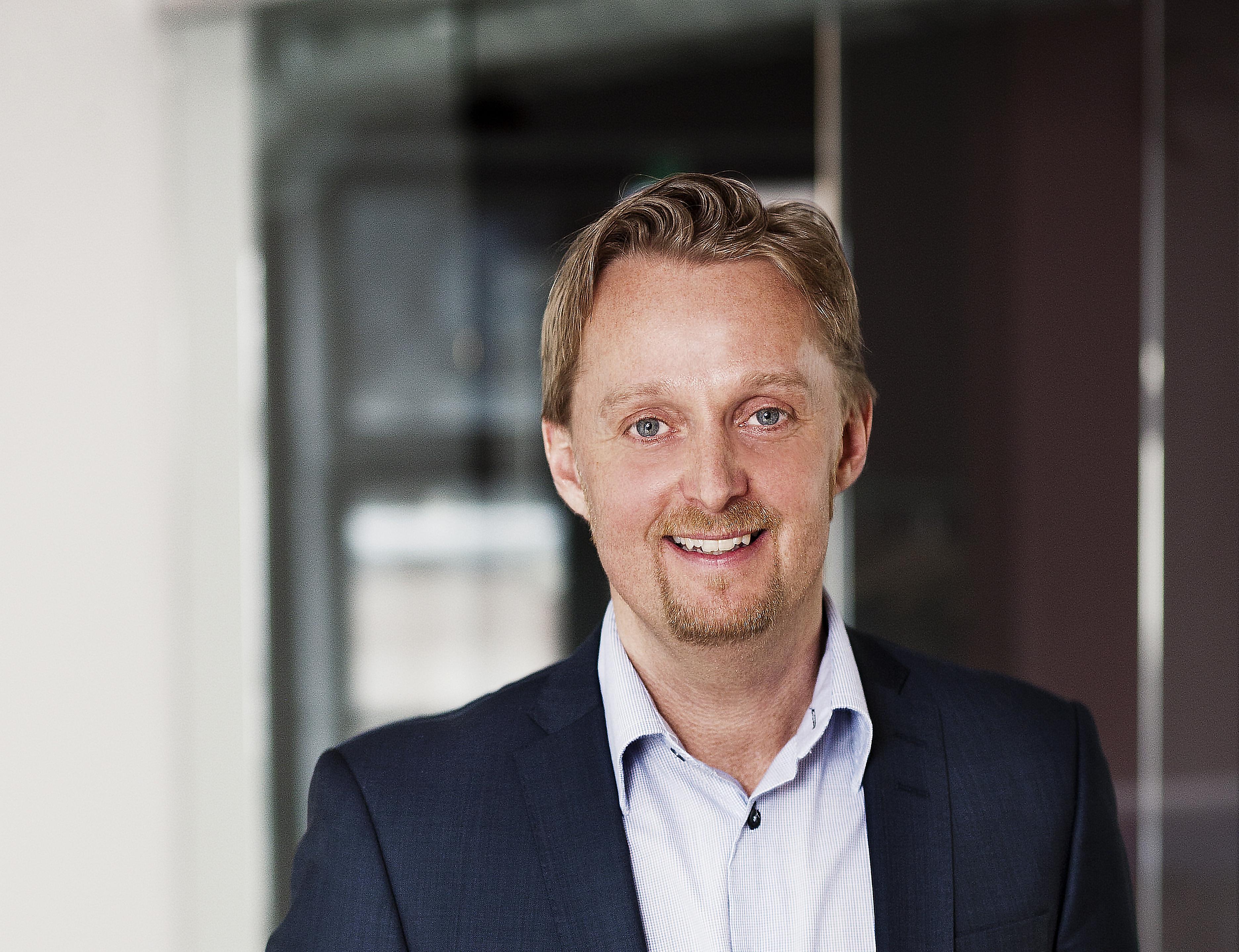 Danske Kevin Helsinghof stopper som global salgsdirektør på passagerområdet i rederiet DFDS for at blive kommerciel direktør i DGI-Byen i København. Foto: DFDS Seaways.