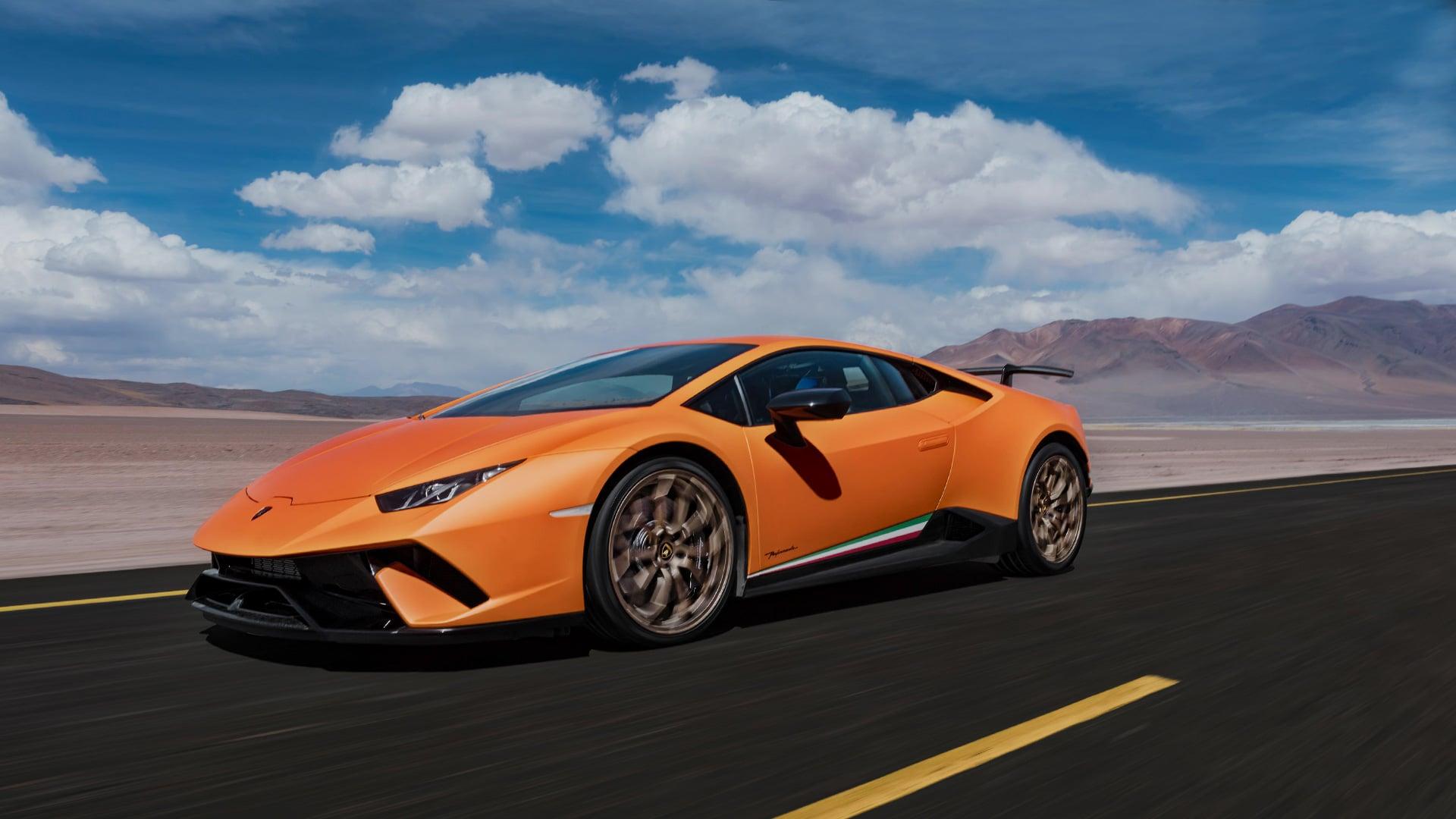 En Lamborghini Huracán, foto: Lamborghini.com