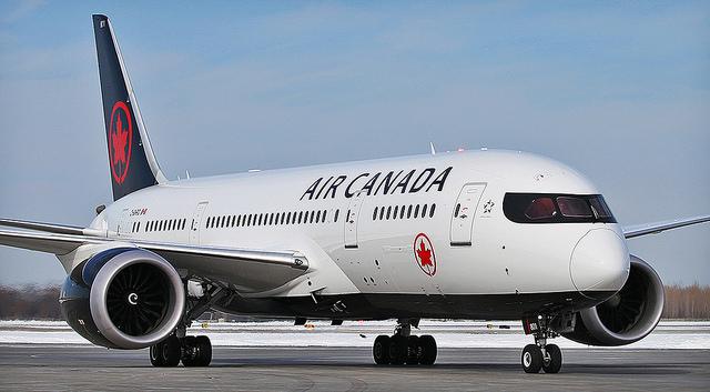 1,7 millioner brugere af Air Canada-app kan have fået stjålet blandt andet deres pasnumre. Pressefoto: Air Canada.