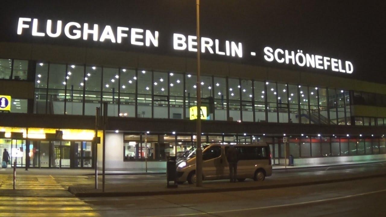 Arkivfoto fra Berlins Schönefeld-lufthavn.