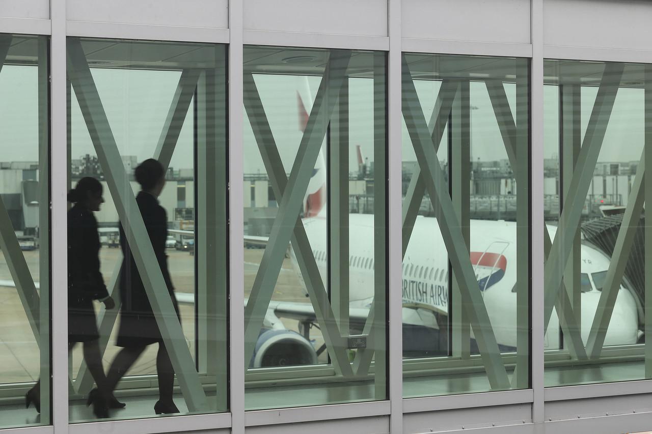 British Airways' koncernchef er vred over lange ventetider ved paskontrollen i London Heathrow. Arkivfoto: London Heathrow.