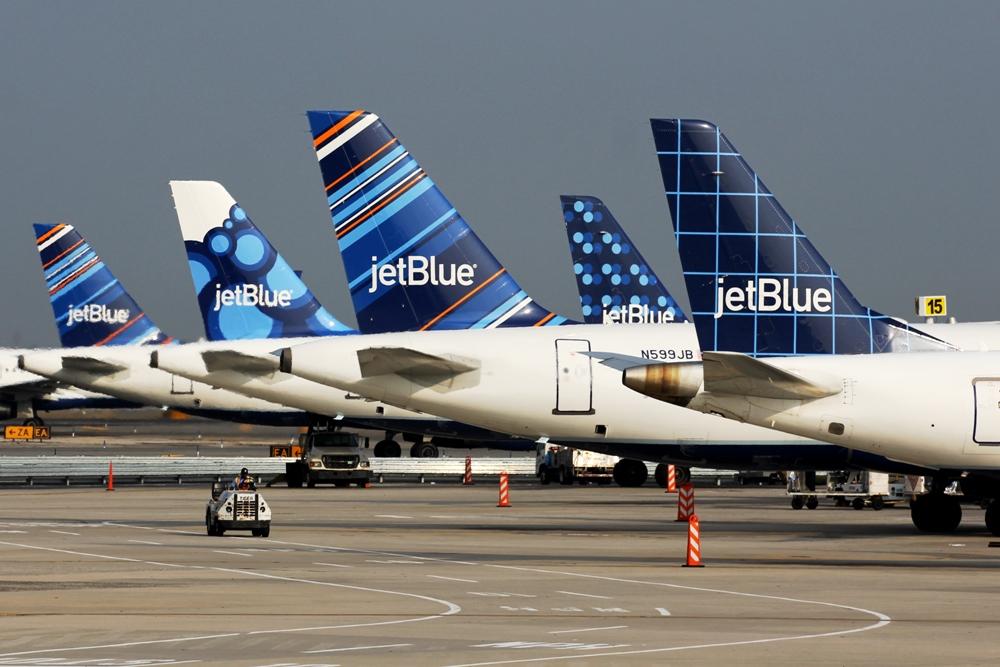 JetBlue Airways, USA's 6. største flyselskab, har netop hævet priserne for bagage der skal med i lastrummet. Pressefoto: JetBlue Airways.