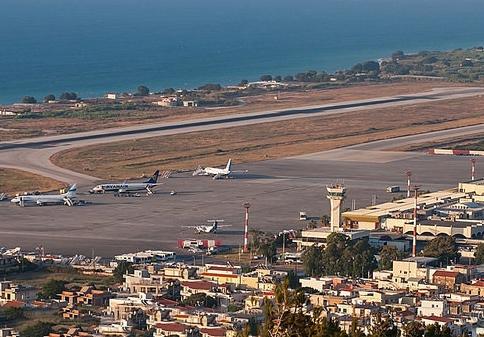 Rhodos Lufthavn, arkivfoto.
