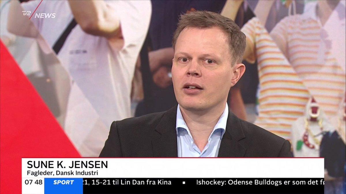 Sune K. Jensen er rykket op i Dansk Industri, hvor han nu er sekretariatsleder for turisme og oplevelsesøkonomi. På arkivbilledet udtaler han sig på TV 2 News om netop turisme.