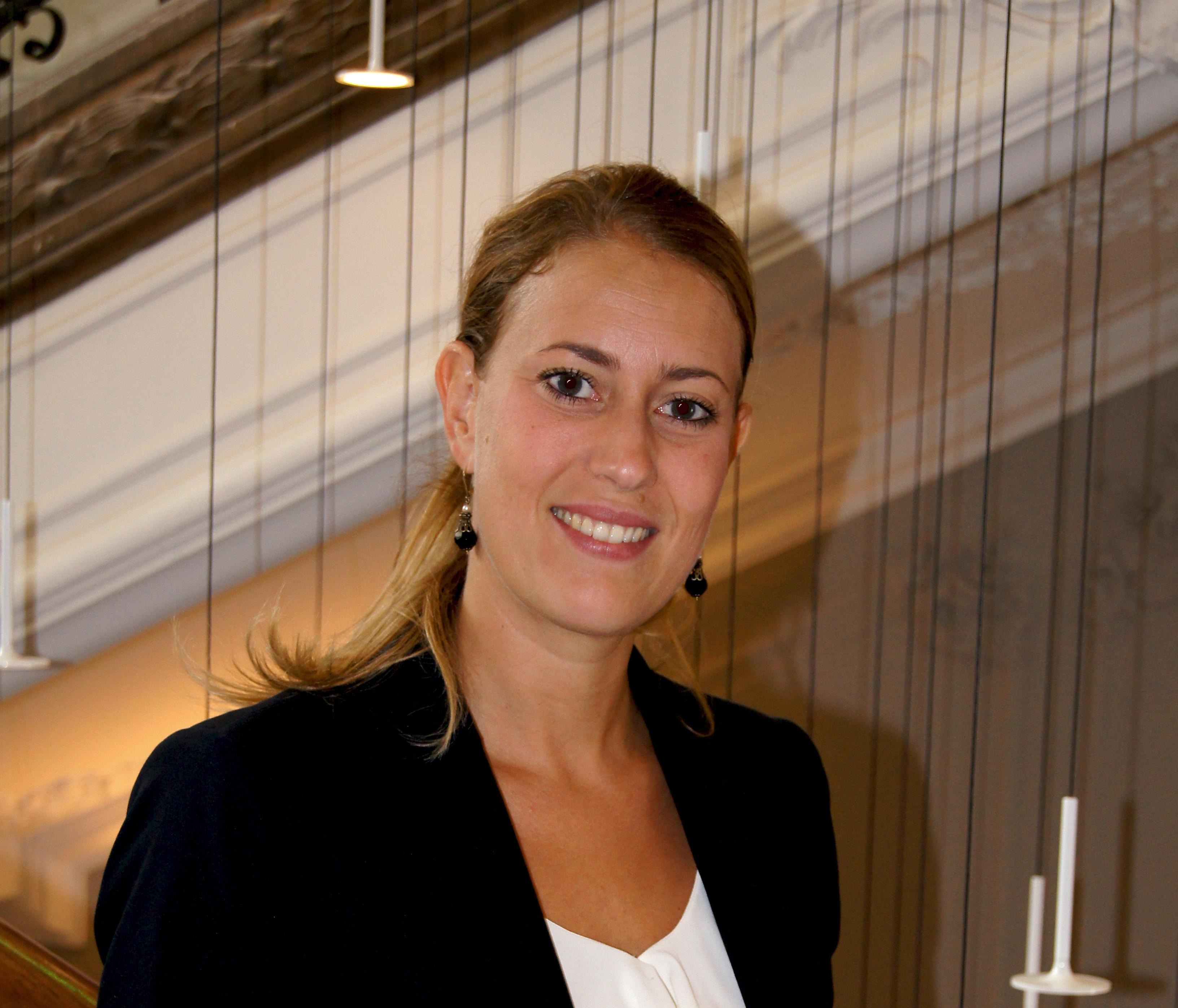 Cecilia Mauritzson er ny i spidsen for svenske Nobis Hotels nye hotel i København. Foto: Nobis Hotels.