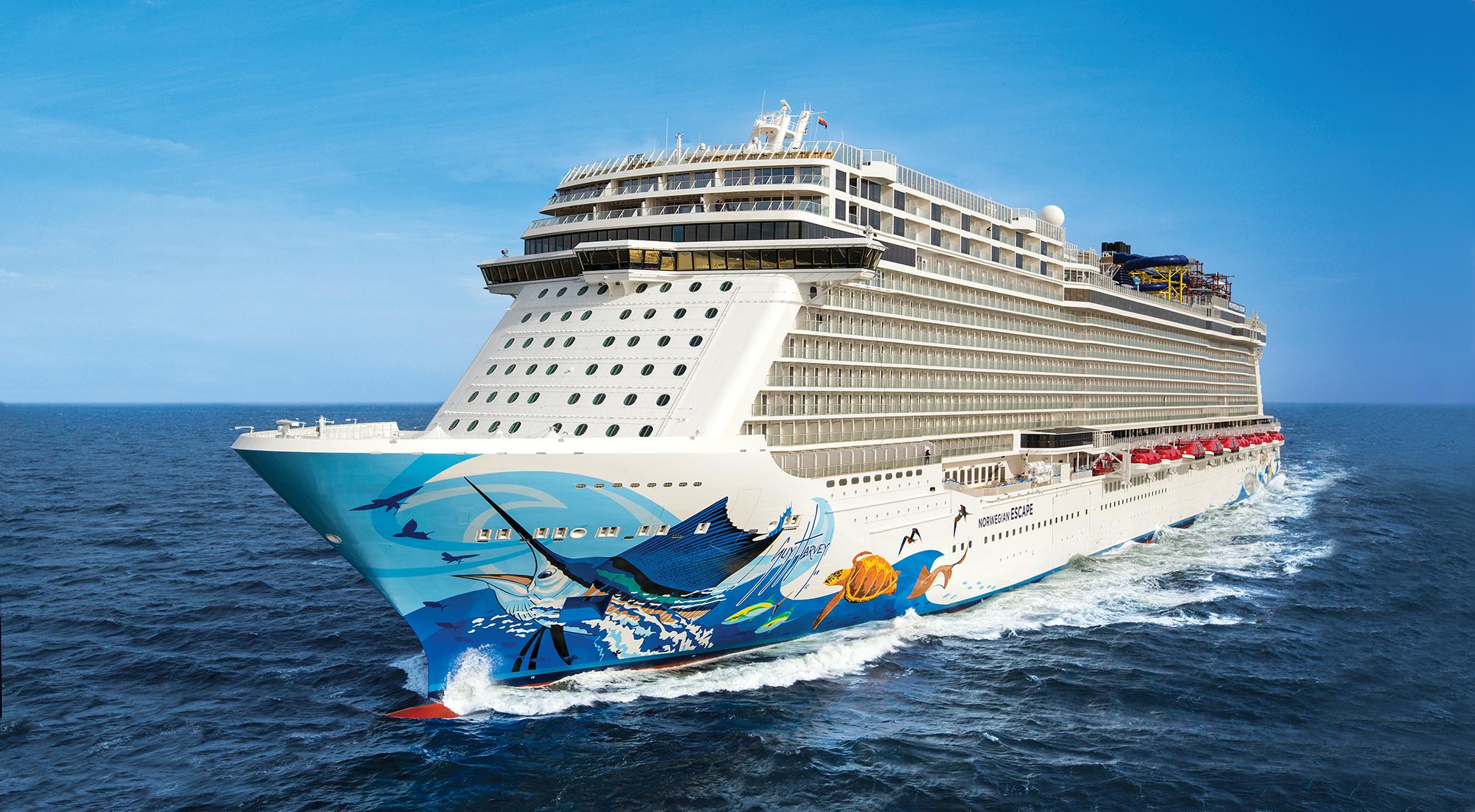 Krydstogtskibet Norwegian Escape. Foto: Norwegian Cruise Line
