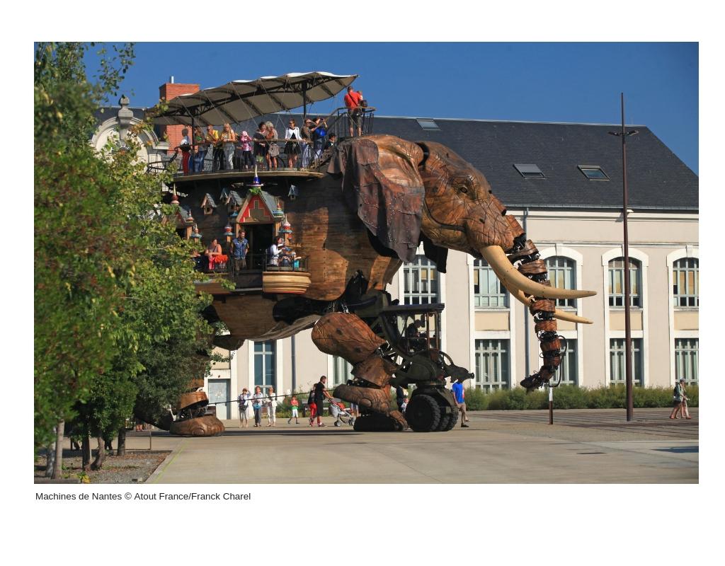 Pressefoto fra museet Machines de Nantes; foto: Atout France, Franck Charel.