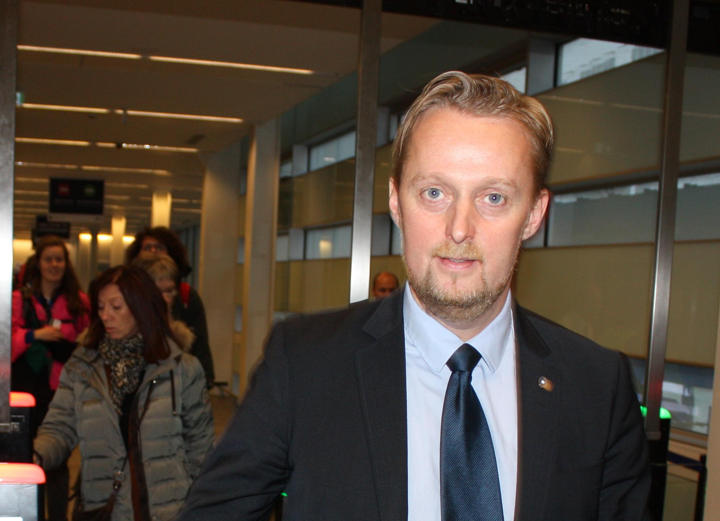 Kevin Helsinghof stopper med månedens udgang hos DFDS Seaways for at blive kommerciel direktør i DGI-Byen. Arkivfoto fra DFDS.