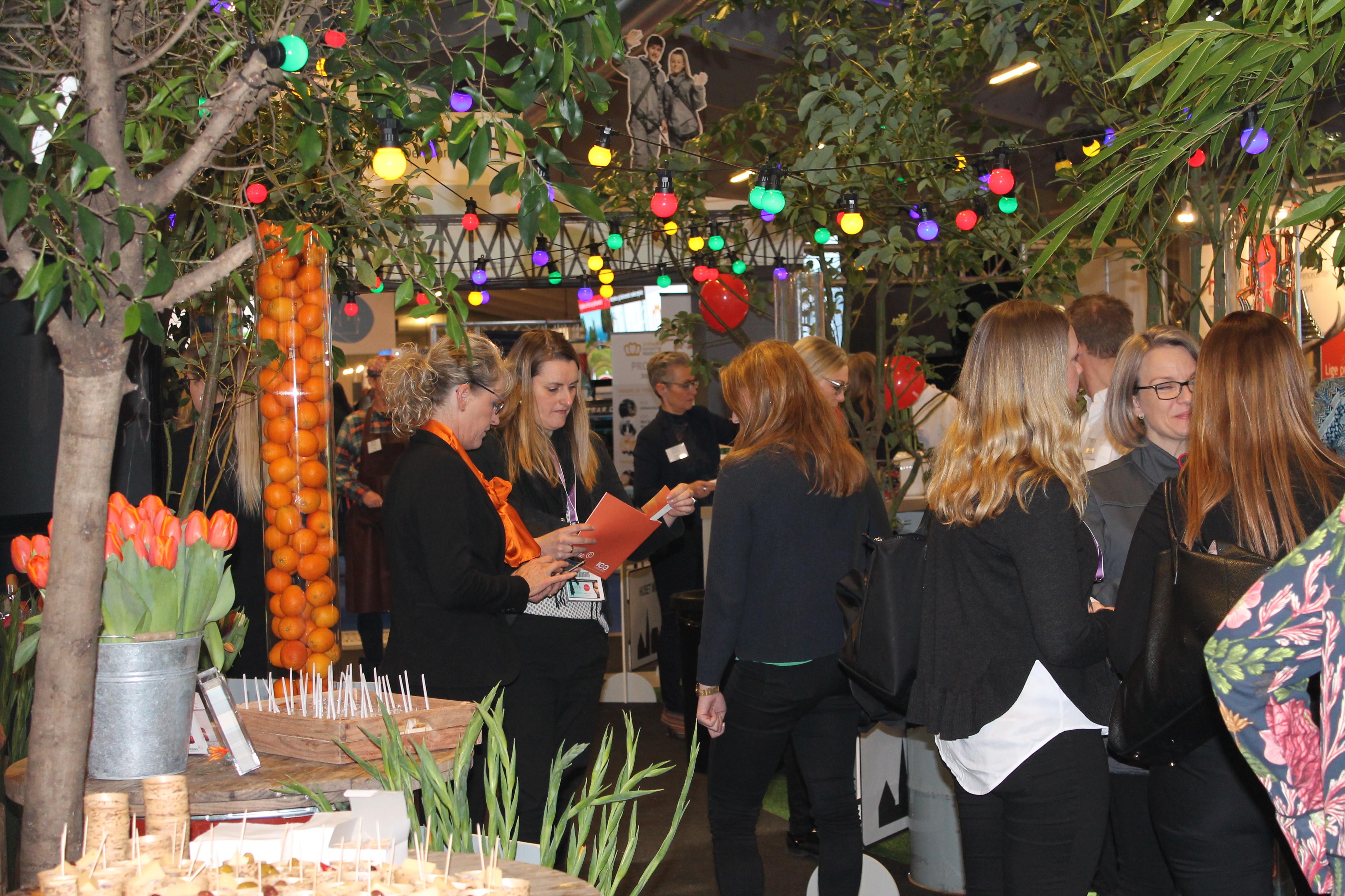 Meeting Lillebælts var med på Møde & Eventmessen i marts 2018 i Bella Center. Nu byttes rollerne, når resten af landet kommer til Trekantområdet. Foto: Kuruslex
