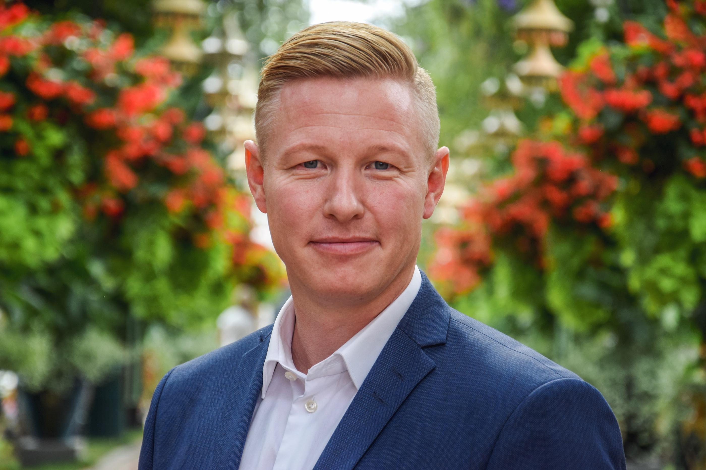 Niels Jørgensen skifter fra eventbureauet Nordic Event og bliver 1. oktober ny chef for Tivolis kommercielle partnerskaber og erhvervsklub. Foto for Tivoli: Christoffer Sandager.