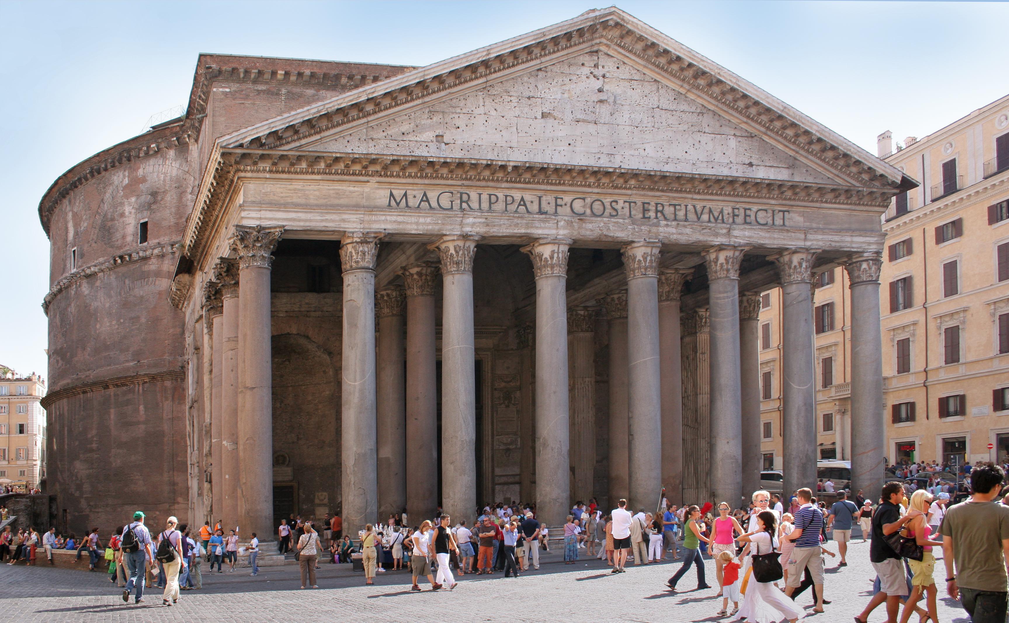 Pantheon i Rom er stor turistattrakton. (Foto: Roberta Dragan | CC 2.5)