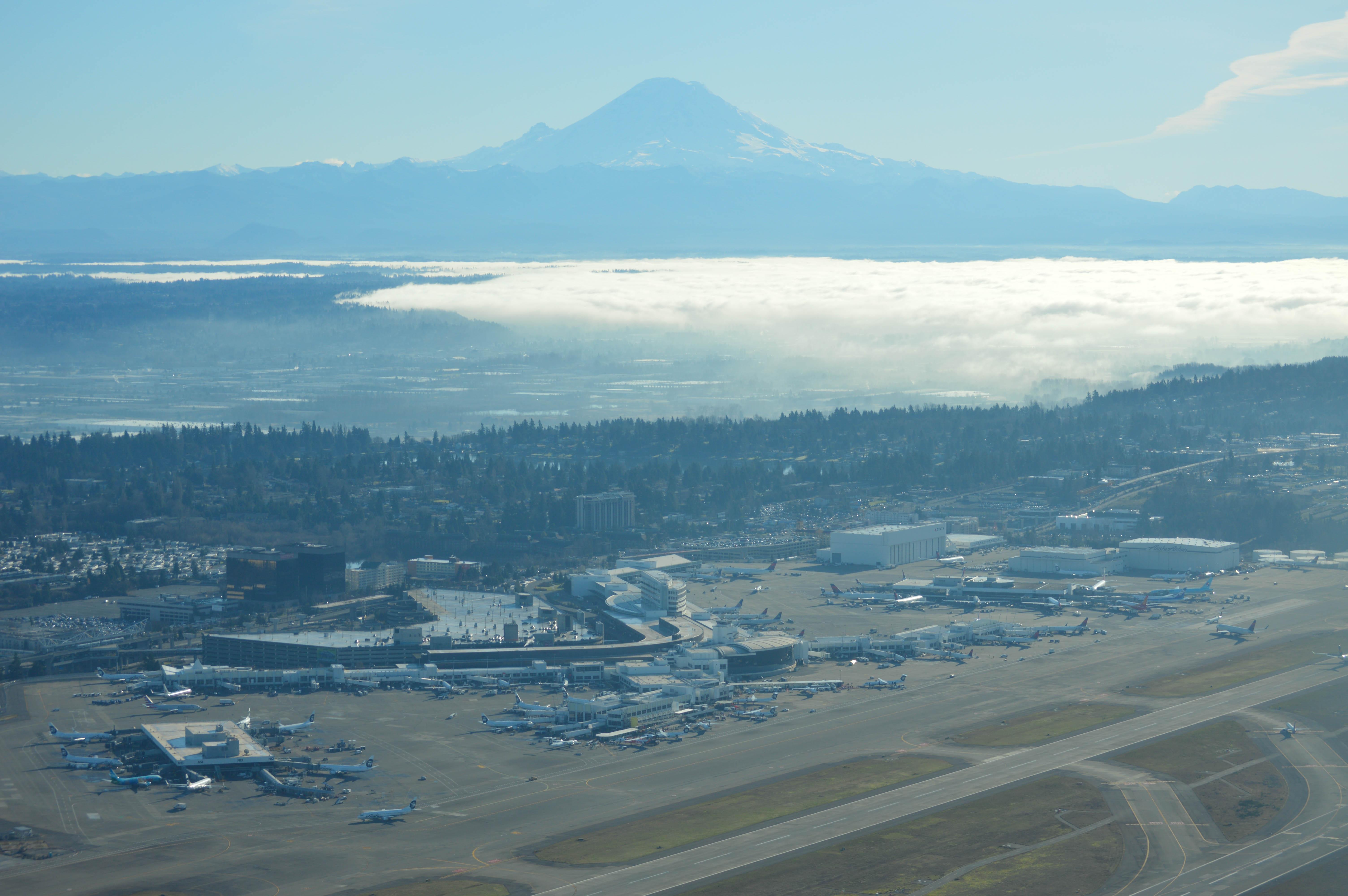 Seattle-Tacoma International Airport. Foto: Bernstea