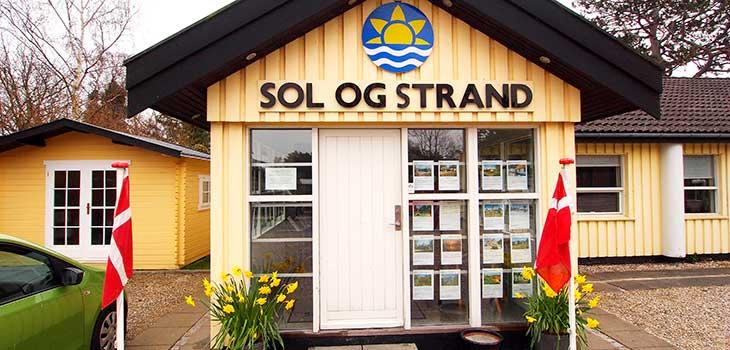 Sol og Strand lokalbureau i Gilleleje. (Foto: Sol og Strand)