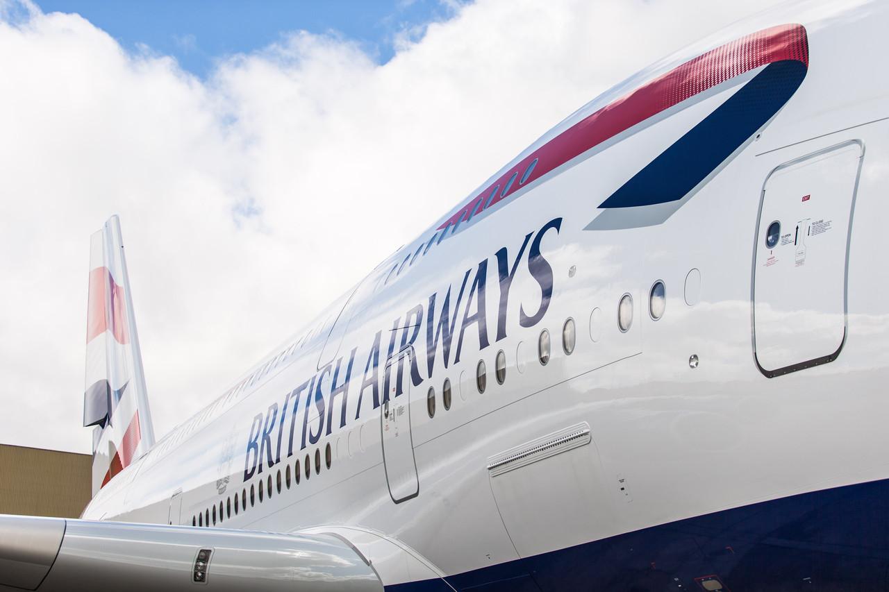 Pressefoto fra British Airways, foto: Stuart Bailey / British Airways.