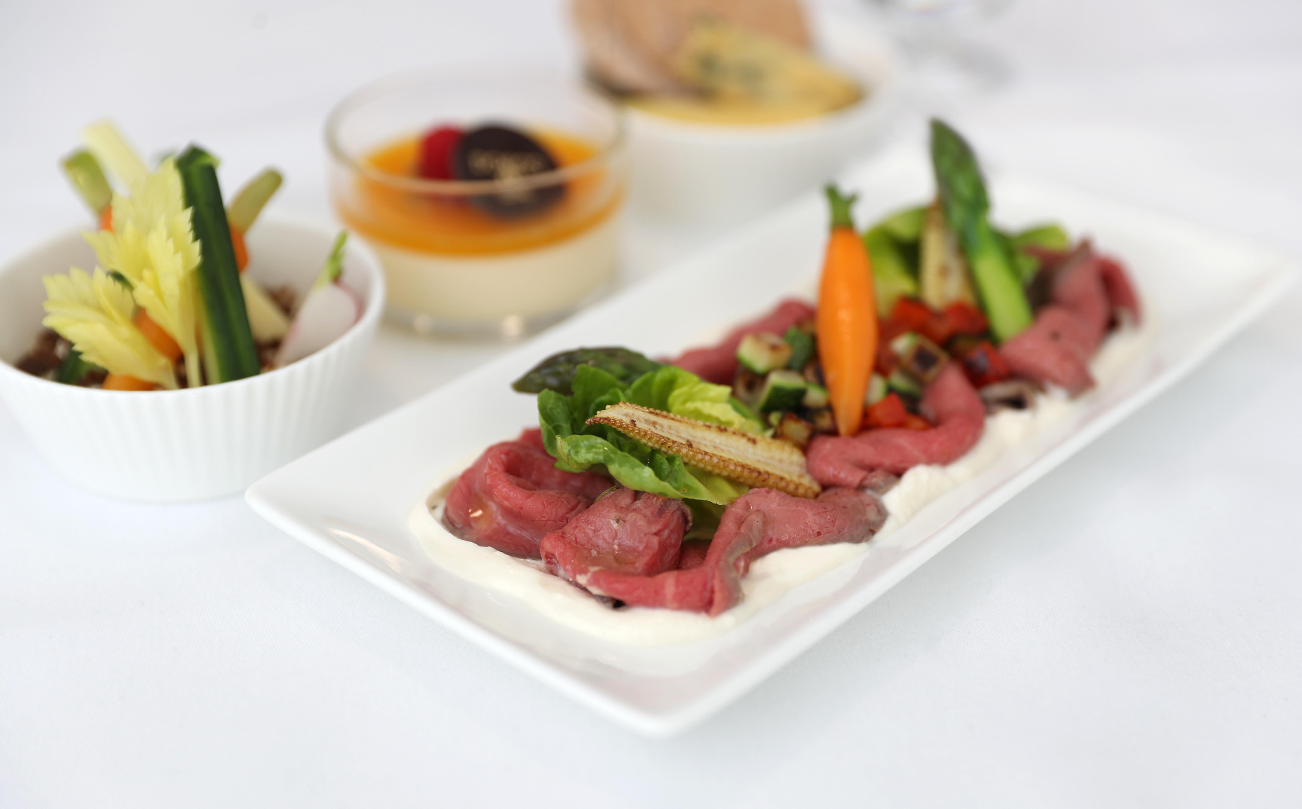 British Airways lancerer snart et helt nyt mad-koncept i selskabets Club Europe. Foto: Nick Morrish/British Airways