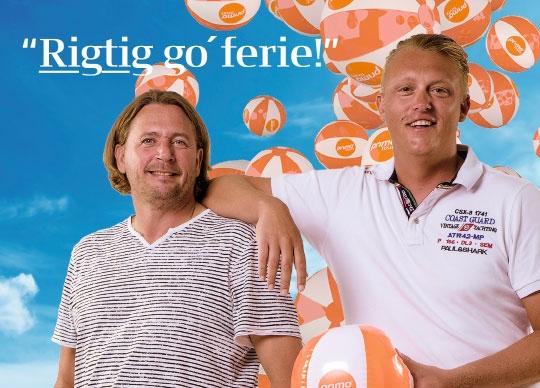 Ejerne af Primo Tours, Henrik Søndergaard, til venstre, og Bjarke Hansen, der nu har fået endnu et rejsebureau. Foto: Primo Tours.