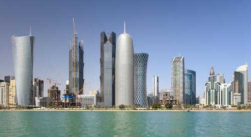 Skyline i Doha, Qatar. Foto: UNWTO